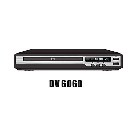 Niko DVD Player DV6060 With USB-Black