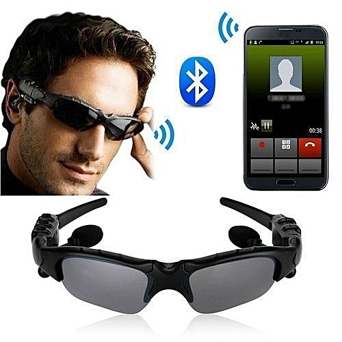 MP3 Sunglasses Camera DVR-12NM Hidden Recorder (Black)