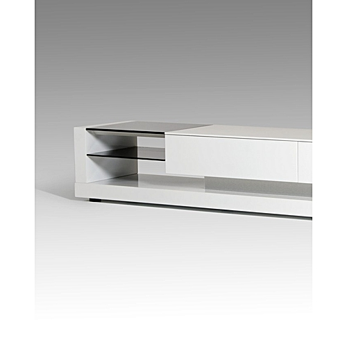 Adio 6 Feet Tv Stand -White (Delivery In Lagos Only)
