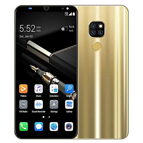 Mate 20 Pro 4GB+64GB ROM Face Recognition Smartphone 6.1 Inch Touch Screen -- Blue / Gold / Black