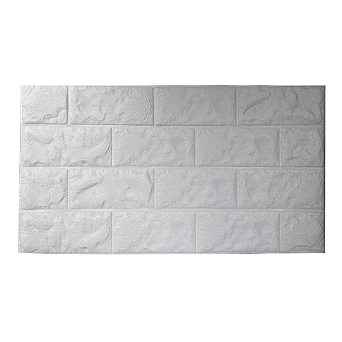 Waterproof Foam 3D Brick Wall Stickers Home Decor DIY Self Adhesive Wallpaper 70x30CM