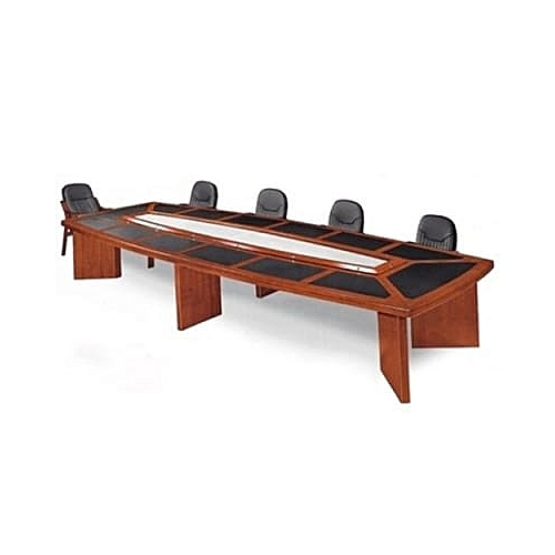 10 Seater Padded Top Conference Table