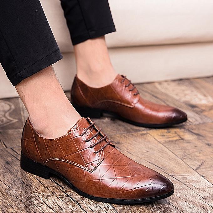 602aef7c7d7f Formal Men Dress Shoes Microfiber Men Business Shoes Classic Office Wedding  Mens Leather Shoes Luxury Fashion