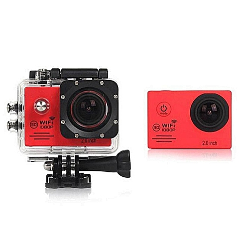 WIFI 1080P Full HD DV Sports Recorder Car Waterproof Camera Camcorder RD