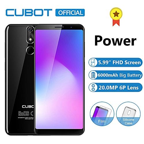 Power 5 99-inch (6GB, 128GB ROM) 6000mAh Helio P23 20MP + 13MP Android Dual  4G Smartphone - Black
