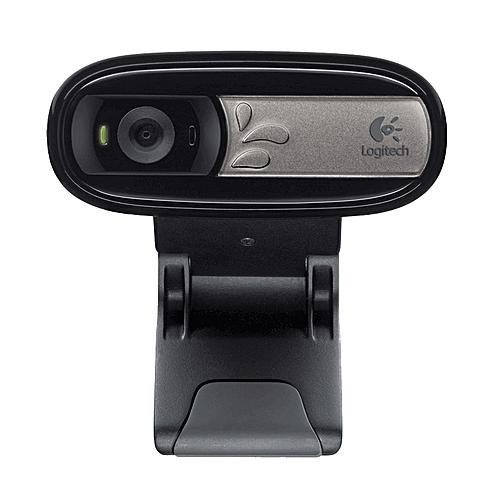 Logitech C170 Fluid Crystal Technology 5.0 Mega Pixels USB HD WebCam With Microphone