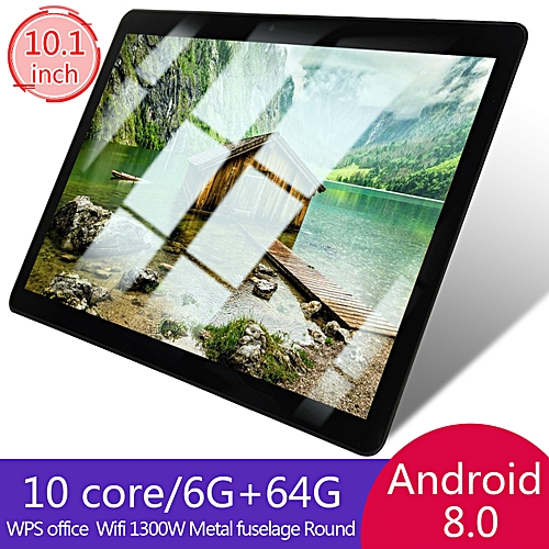 HOT SALE 10.1'' 4G + 64GB Android 7.0 Tablet PC Octa 8 Core