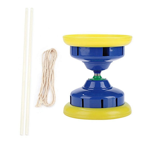 3 Bearing Plastic Diabolo With Sticks String Juggling Toy Chinese Yoyo Exercise Tool
