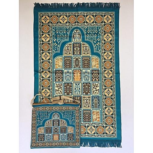 Muslim Prayer Mat With Bag For Travel Bag Prayer Mat ,Islam Prayer Rug With Bag Sets HGP-019 3D Print