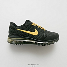 a3efbd078a NIKE AIR Max 2017 Men Sneaker Running Shoes Yellow Size 40-45