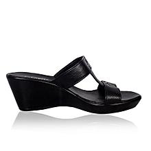 339a284332a1 Ladies Wedge Shoe- Black