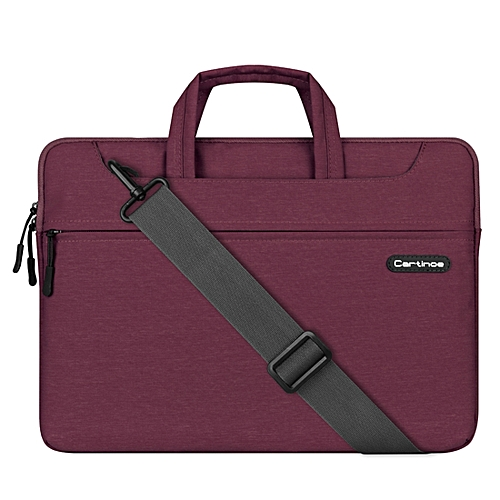 15.4 Inch Cartinoe Starry Series Exquisite Zipper Portable Handheld Laptop Bag With Removable Shoulder Strap ForBook, Lenovo And Other Laptops, Internal Size:39.0x27.5x3.5cm(Purple)