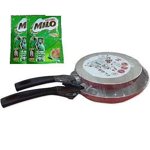 Frying Pan Set - (20-24cm Diameter)