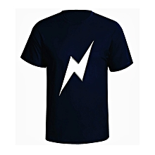 Men's NEB Lite Print T-Shirt - Navy Blue