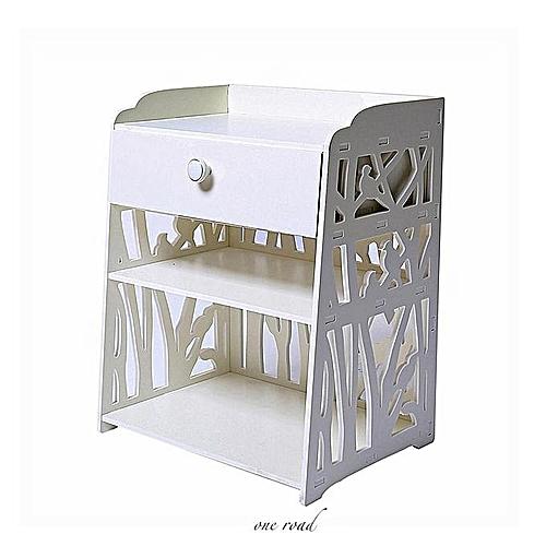 White Bedside Cabinet Bedside Cabinet Storage Cabinet Shelf