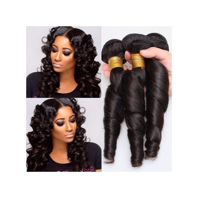 Brazillian Romance Curls Human Hair - COL.1b/ 6Bundles