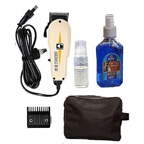 Hair Clipper (Bag & Aftershave)Set