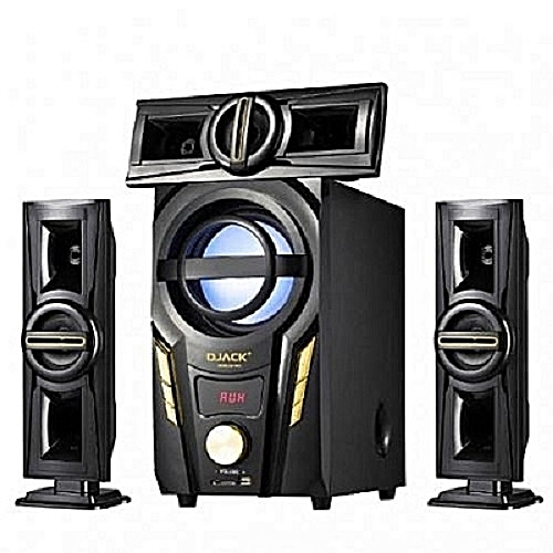 Powerful 3.1CH Bluetooth Home Theatre System - DJ-703A