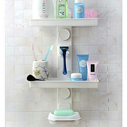 Multipurpose Bathroom Storage Rack