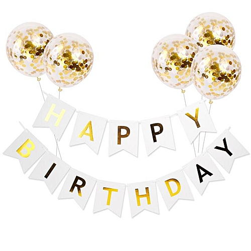 Lovely Happy Birthday Wall Party Decoration