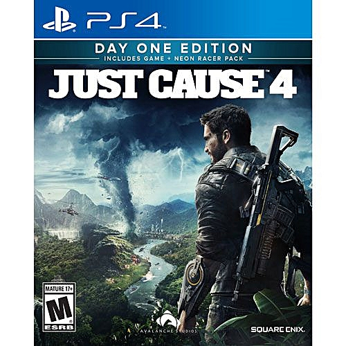 JUST CAUSE 4 PS4 GAME CD