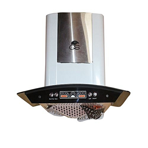 60cm Smoke/ Heat Extractor Cooker Hood Stainless Ductless