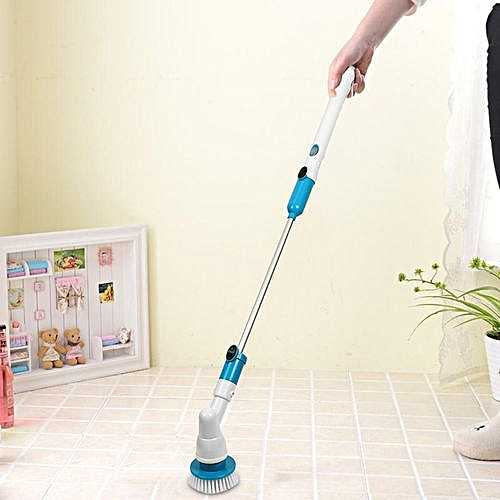 Turbo Spin Scrub Cleaning Brush Mop Scrubber Bath Tile Floor High Hurricane Home
