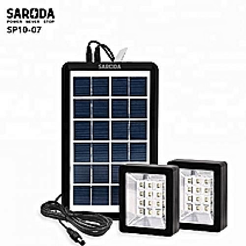 Solar Lighting Kit With Phone Charging And Inbuilt Battery