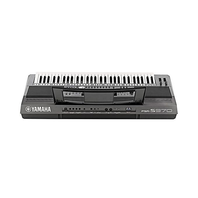 PSR S970 Keyboard Arranger Workstation With Power Pack