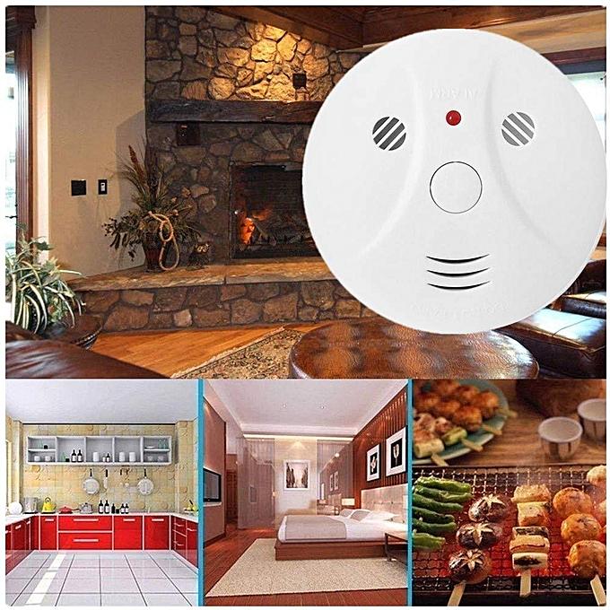 Generic Combination Photoelectric Smoke Alarm And Carbon Monoxide