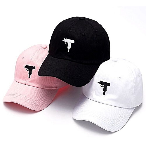 3 In 1 Mac Baseball Cap- Pink,White And Black