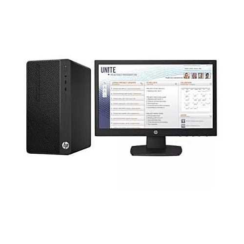 290 G2 MICROTOWER PC INTEL® PENTIUM® GOLD G5400 DVD-WRITER