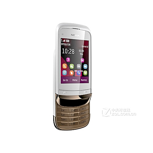 C2-02 3G Features Mobile Phone Supports Slide / Touch Screen / Button / Bluetooth