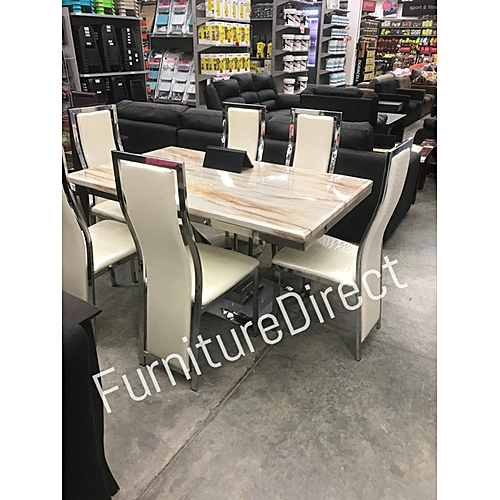 Ezcos Marble Dining Set Furniture Gift Items Available