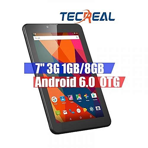 """M07K6 - 7.0"""" 3G Dual SIM Tablet PC Android 6.0 1GB/8GB OTG WIFI - Black"""