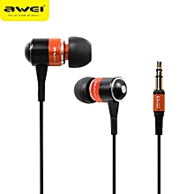 Awei ES-Q3 In-Ear Earphone Stereo Headphones Earbuds Super Bass Headset  Fone De 4f53576cb3777