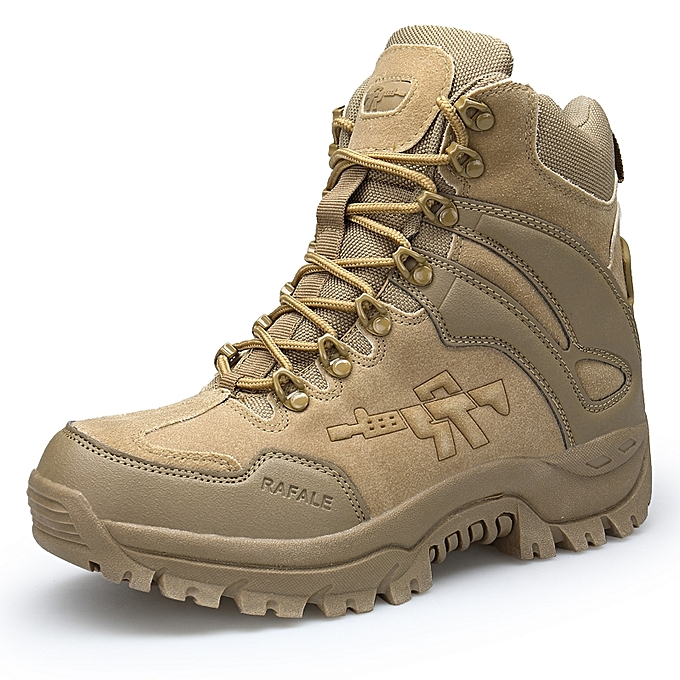 a0ee6d3bda Men Desert Tactical Military Boots Mens Brown Boots Work Safty Shoes SWAT  Army Boot Militares Tacticos