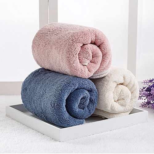 Home Textile Towel Microfiber Towel Hotel Custom Double-sided Coral Velvet Quick-Dry Towel