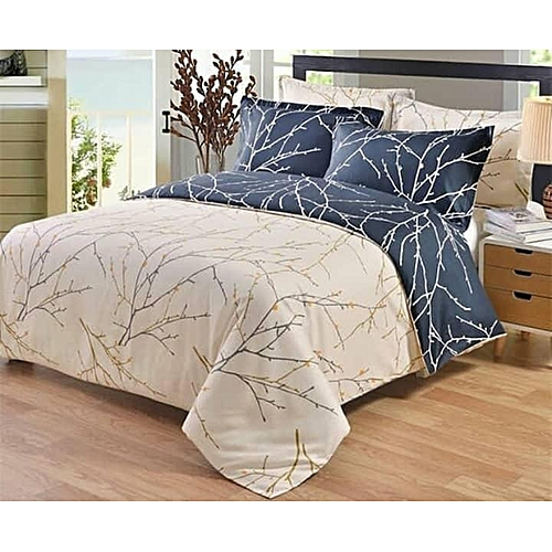 Bedsheet And Duvet With Four Pillow Cases