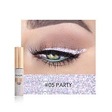 FOCALLURE New Arrivel PARTY 5# Glitter Eyeliner Eyeshadow For Easy To Wear Waterproof Liquid Eyeliner