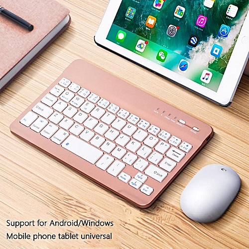 Bluetooth Keyboard With Mouse Tablet (not Including IPad)