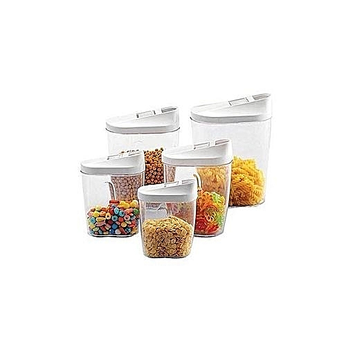 Plastic Cereal Container Set