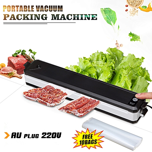 Auto Food Vacuum Sealer Bag Packing Machine Food Saver Storage Home Kitchen