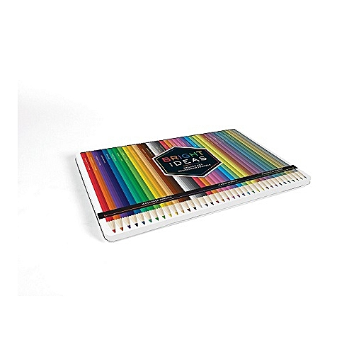 Bright Ideas Deluxe Set: 36 Colored Pencils Hardcover