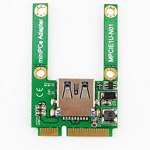 Haojks Mini PCI-E Card Slot Expansion To USB 2.0 Interface Adapter Riser Card