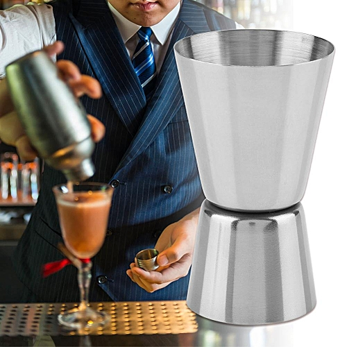 30/45ml Double Head Stainless Steel Measuring Cup Bar Jigger Tail Drink Measure Tool
