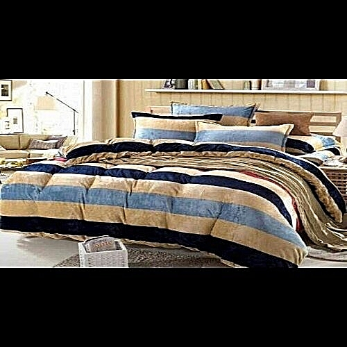 Duvet And Bedsheet With 4pillow Case