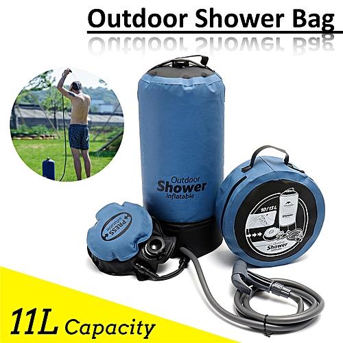 11L Outdoor Shower Bag Portable Bathing Bag Folding Camping Water Storage