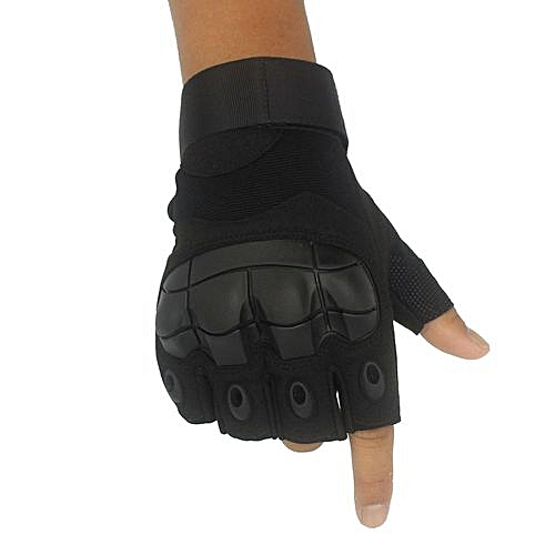 Gloves Gym Weight Lifting Fitness Training Exercise Hand Cycling Bicycle Motorcycle Driving-black