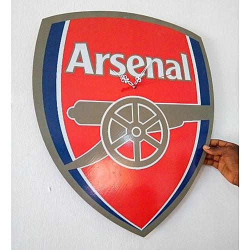 Arsenal F.C. Wall Clock (Large) (Reference: Xc019)